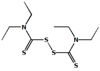 molecular structure of Antabuse