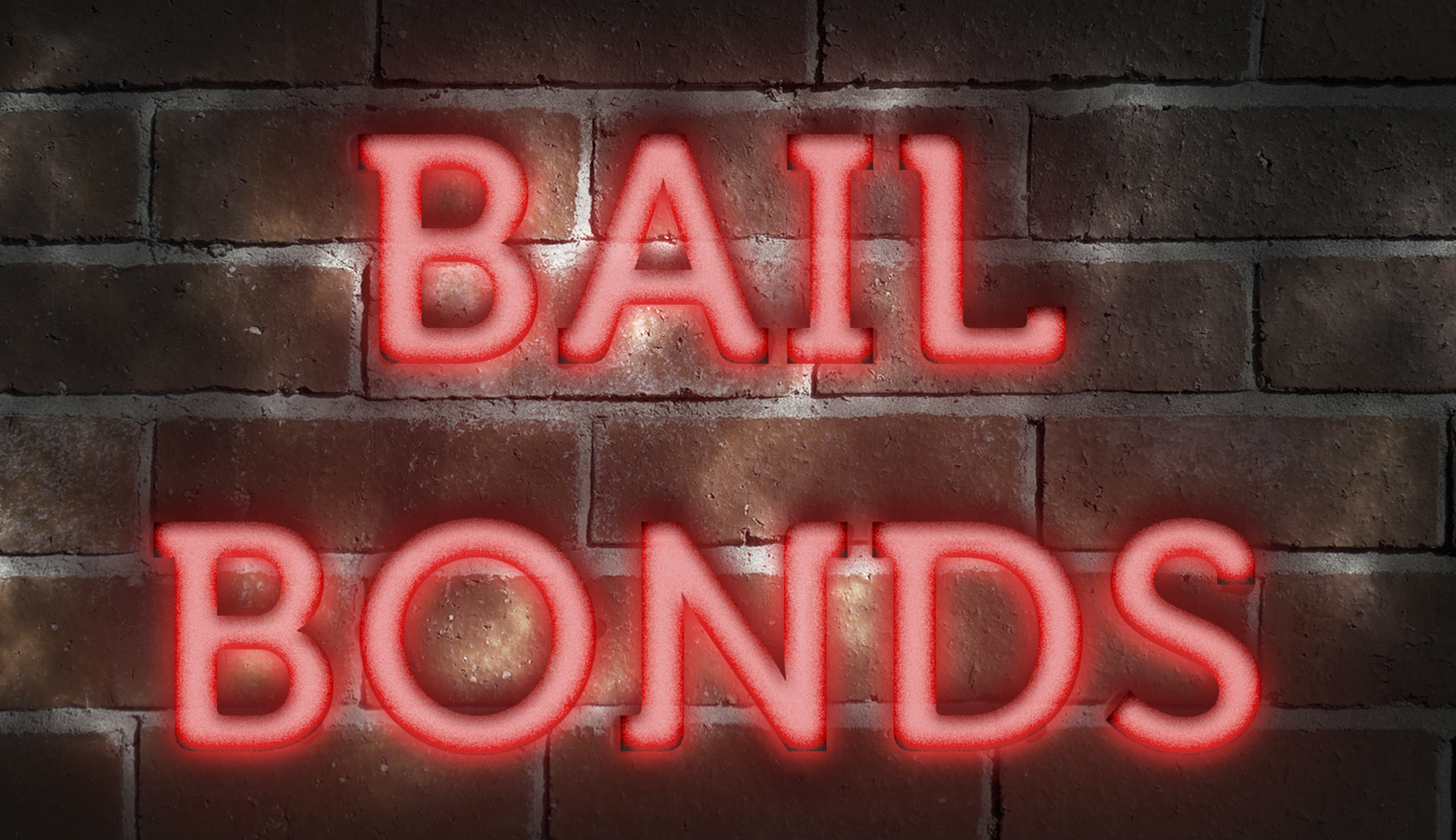 Front view of a Bail Bond office